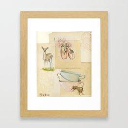 As you should be Framed Art Print