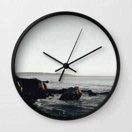 Moody Cliffside Wall Clock