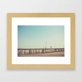 Love Bridge Framed Art Print