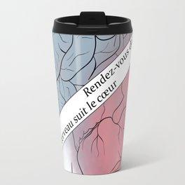 it's a brain/heart decision Travel Mug