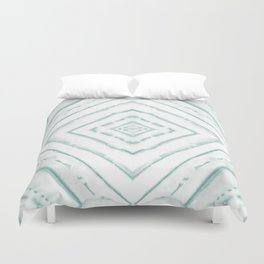 Dye Dash Diamond Sea Salt Duvet Cover