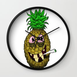 High Pineapple Wall Clock