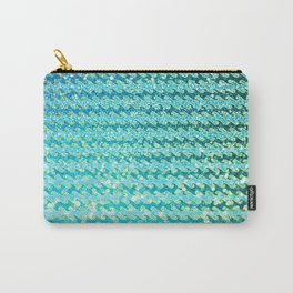 Mermaid Waves and Sea Foam, Sun Light over the Ocean Carry-All Pouch