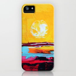 Abstract Landscape - My Moon iPhone Case