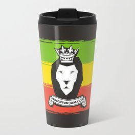 Rasta Lion Travel Mug