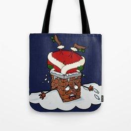 Santa Claustrophobia Tote Bag