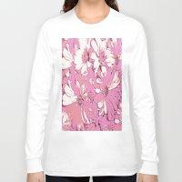 daisy Long Sleeve T-shirts featuring Daisy  by Saundra Myles