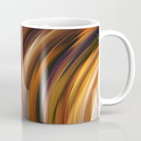 the strokes Mugs featuring Strokes by Andi GreyScale