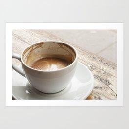 Latte 2.0 Art Print