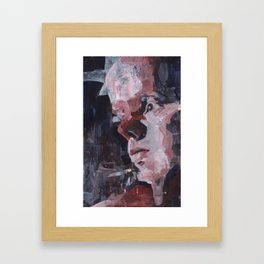 The Empty Framed Art Print