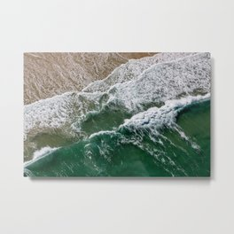Riding high amongst the waves II Metal Print