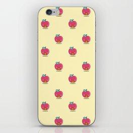 Unhealthy food pattern iPhone Skin