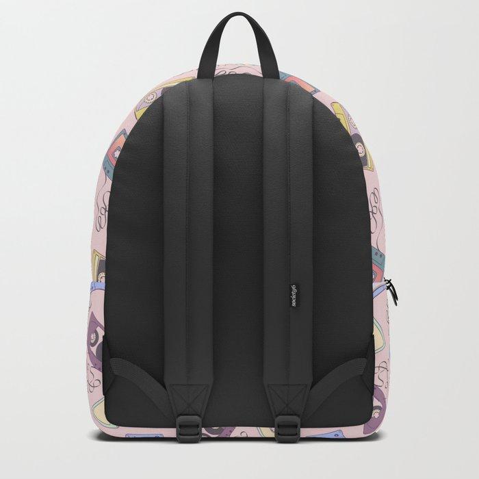 Cassette Pattern Backpack