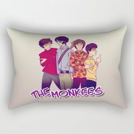 The Monkees Rectangular Pillow