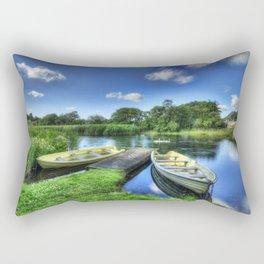 Padarn Boats Rectangular Pillow