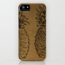 Pineapple Express iPhone Case