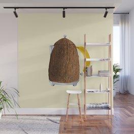 Kettle coconut Wall Mural