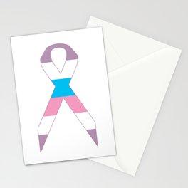 Intersex Ribbon v1 Stationery Cards