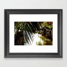 Secret Stream Framed Art Print