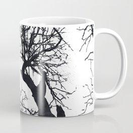 Black tree branches silhouette #3 Coffee Mug