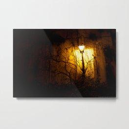 The Lamp Ghost Metal Print