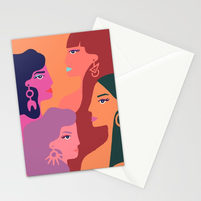 Girl Gang Stationery Cards