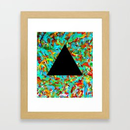 Secret to Success Framed Art Print