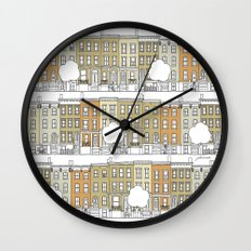 Brooklyn (color) Wall Clock