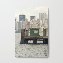 The Local Hangout - NYC Metal Print