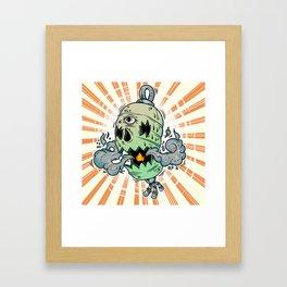 Chōchin-obake Framed Art Print
