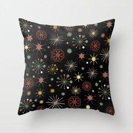 Chalkboard Christmas Pattern 03 Throw Pillow