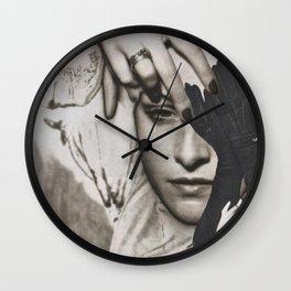 A Blind Eye Wall Clock