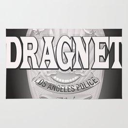 Dragnet - LA Police badge Rug