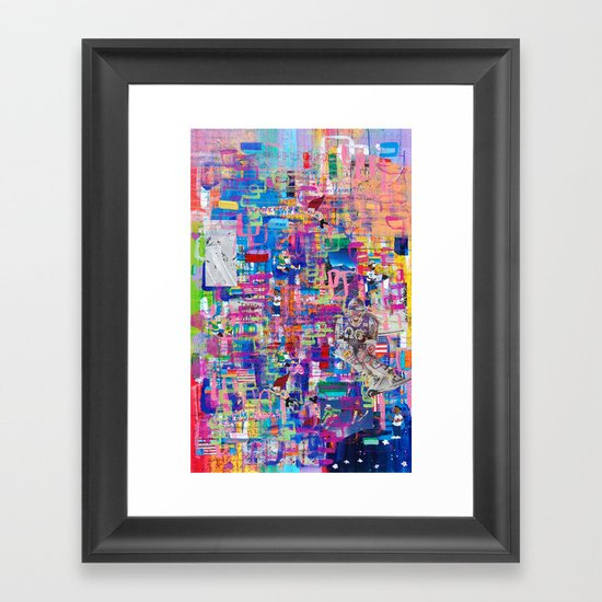 Commitment Foundation Framed Art Print