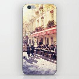 Montmartre Cafe iPhone Skin