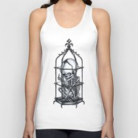 cage Tank Tops featuring Fetus Cage by Elias Aquino