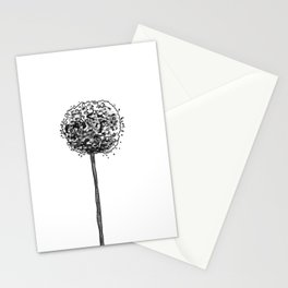 Allium pom Stationery Cards