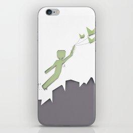 Wanna Leave iPhone Skin