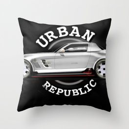 car - M Benz draw Throw Pillow
