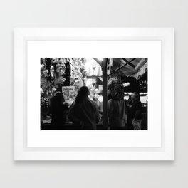 Win Me Something Framed Art Print