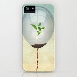 micro environment iPhone Case