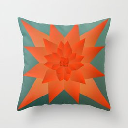 Origami Forest Birds  Throw Pillow