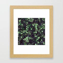 Fractal Gems 04 - Emerald Dreams Framed Art Print