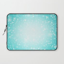 Snowing in the sky Laptop Sleeve