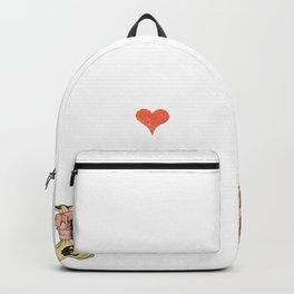 Papa kleine Tochter finanzielle Belastung Backpack