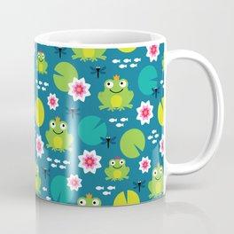 Frog & Nenuphar Coffee Mug