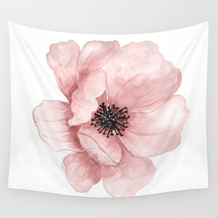 Flower 21 Art Wall Tapestry