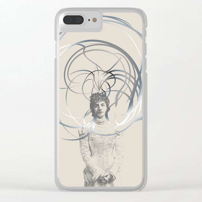 Enchanted Clear iPhone Case