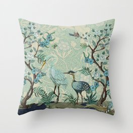 The Chinoiserie Panel Throw Pillow