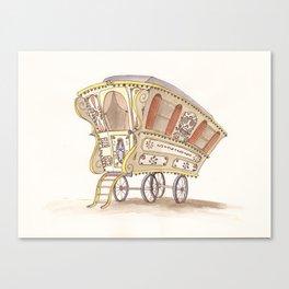 Caravans Canvas Print